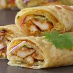 Chicken Paratha Roll